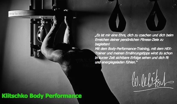 Klitschko Body Performance Erfahrung